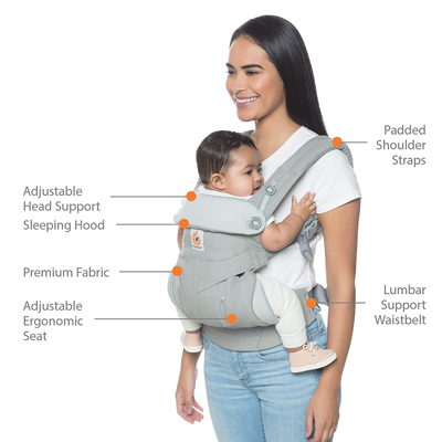Best Baby Carrier with lumbar support
